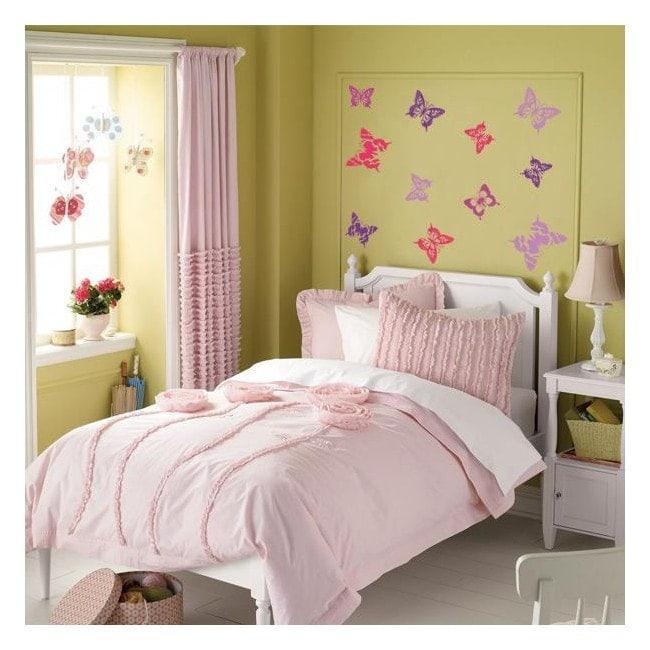 Vinyl decorative butterflies