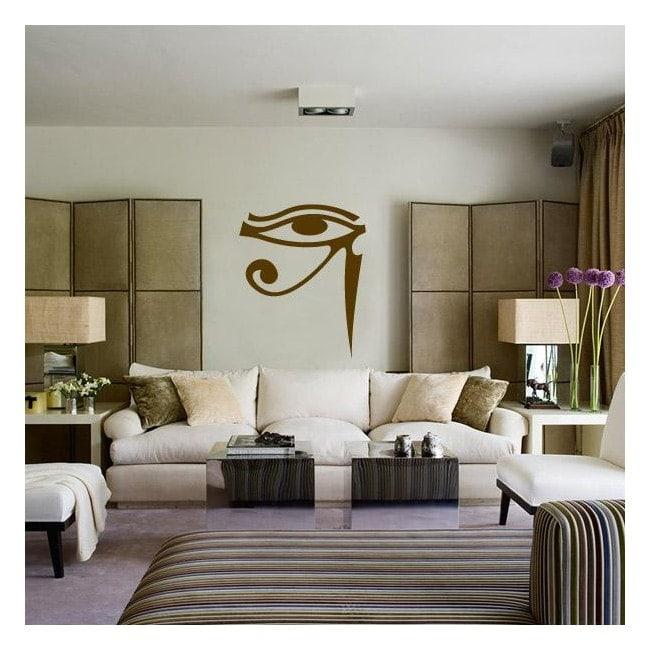 Decorative vinyl eye of Horus