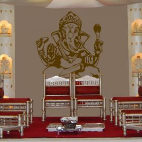 Decorative vinyl Ganesha