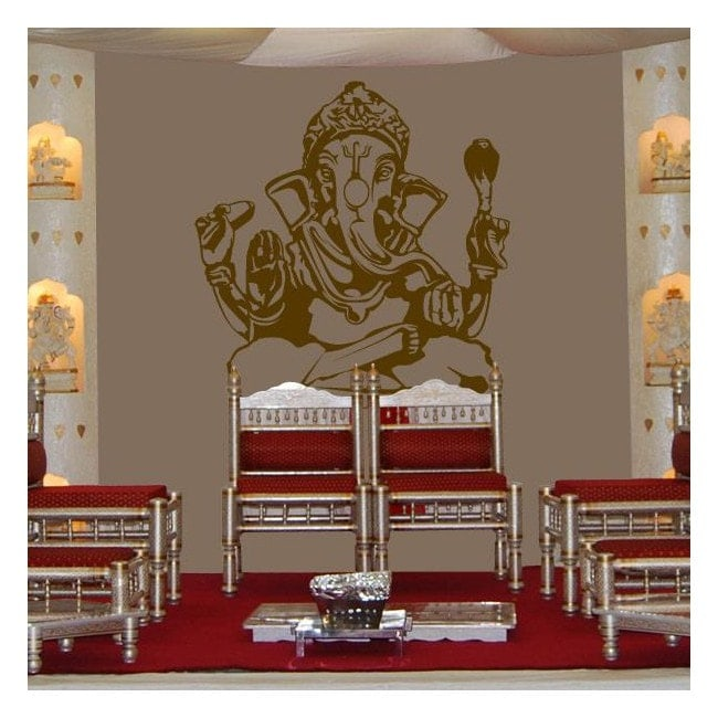 Decorative vinyl Ganesha