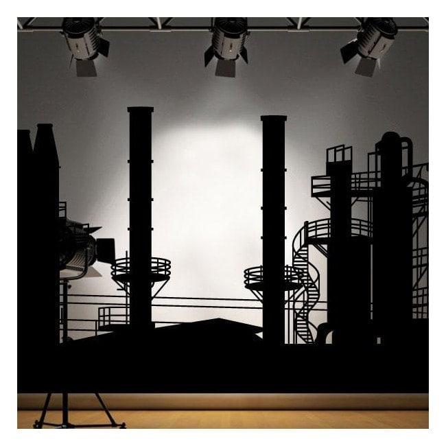 Panoramic decorative vinyl factory