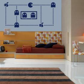 Decorative vinyl Pac-Man