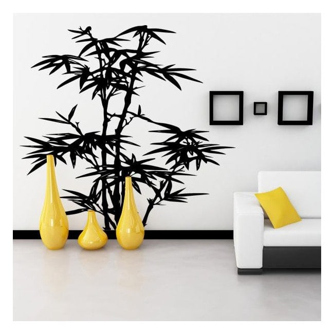 Bamboo decorative vinyl