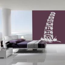 Tower of Pisa I decorative vinyl