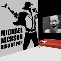 Decorative vinyl Michael Jackson