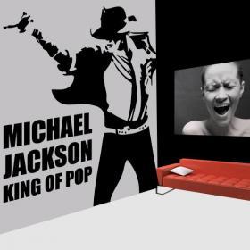 Decorative vinyl Michael Jackson