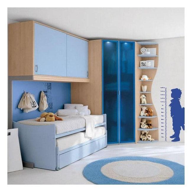 Child height meter decorative vinyl