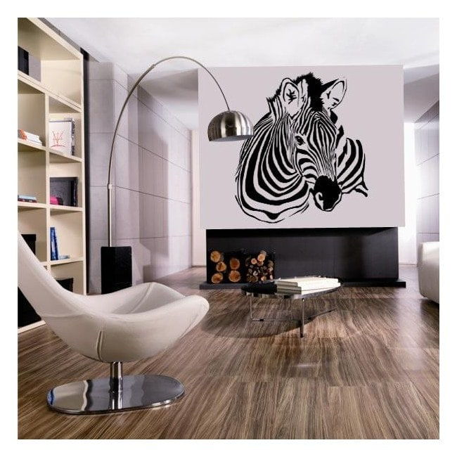 Zebra decorative vinyl