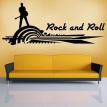 Vinyl decorative Rock and Roll I