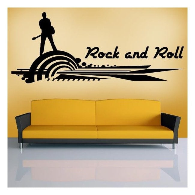 Vinyl decorative Rock and Roll I