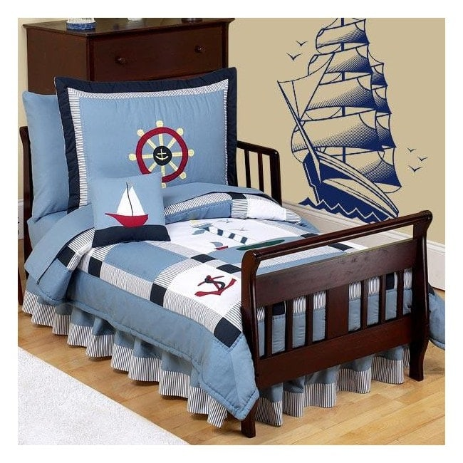 Decorative vinyl boat sail