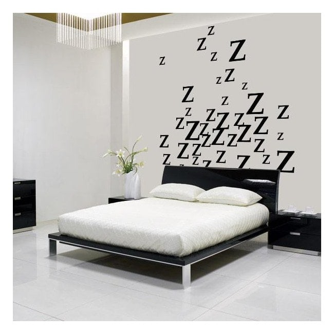 Vinyl decorative sleep is a pleasure