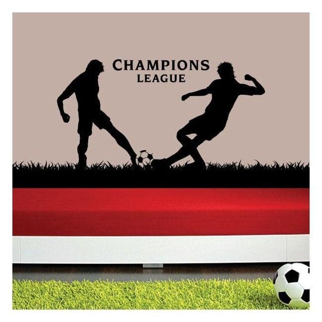 Decorative vinyl UEFA Champions League