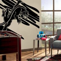 Decorative vinyl Panther