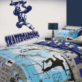 Decorative vinyl Skateboarding
