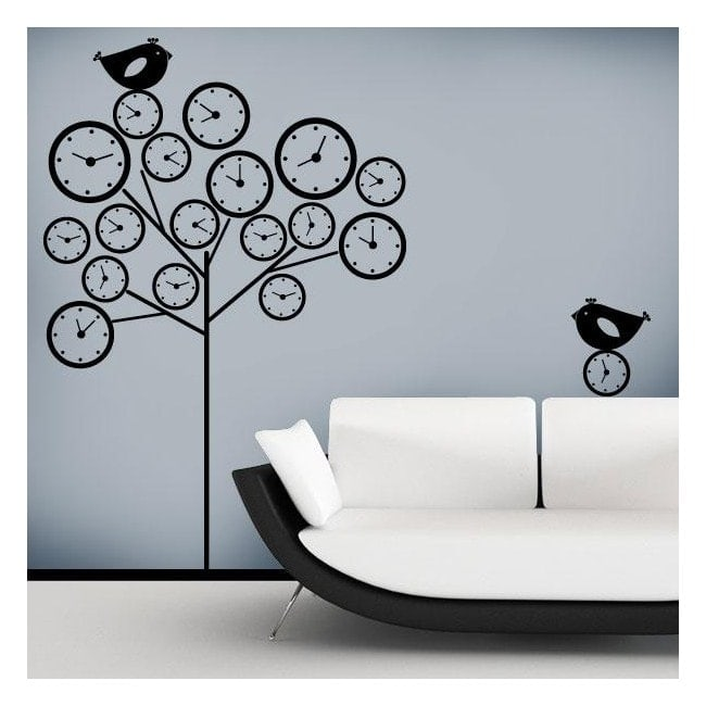 Stickers wall tree of time