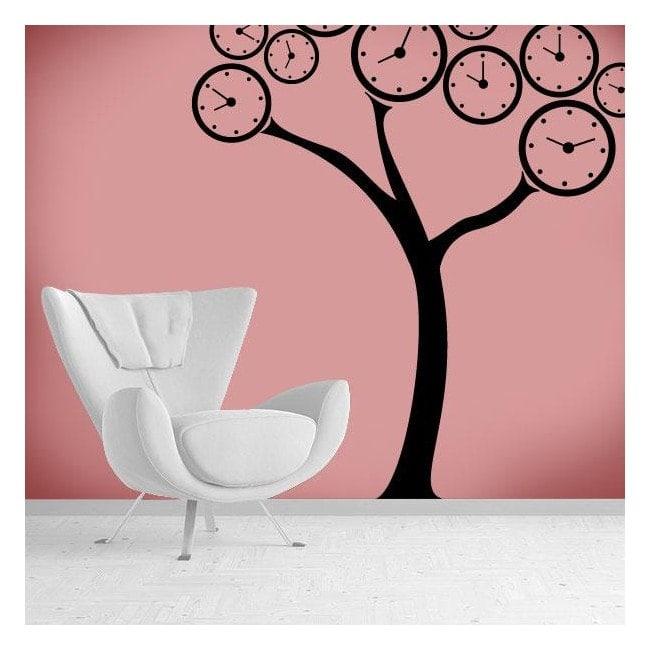 Decorative vinyl tree watches