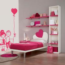 Stickers walls romantic moment