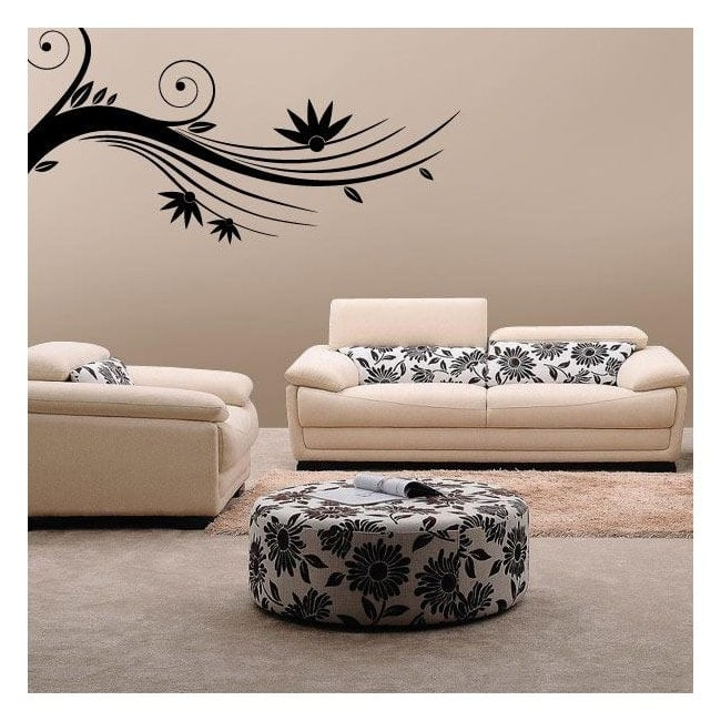 Walls Floral branch stickers
