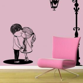 Decorative vinyl romantic moment
