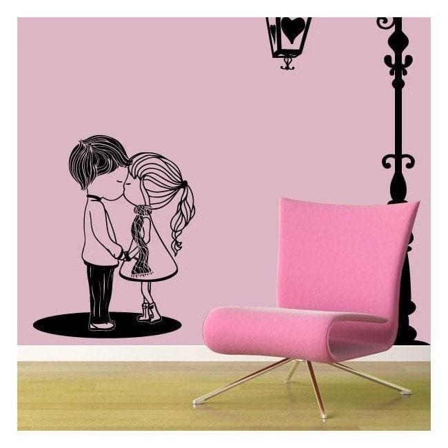 Decorative vinyl romantic moment English 528