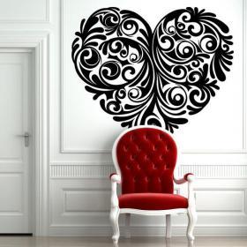 Wall stickers Tribal heart