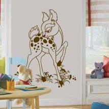 Decorative vinyl Bambi Fawn