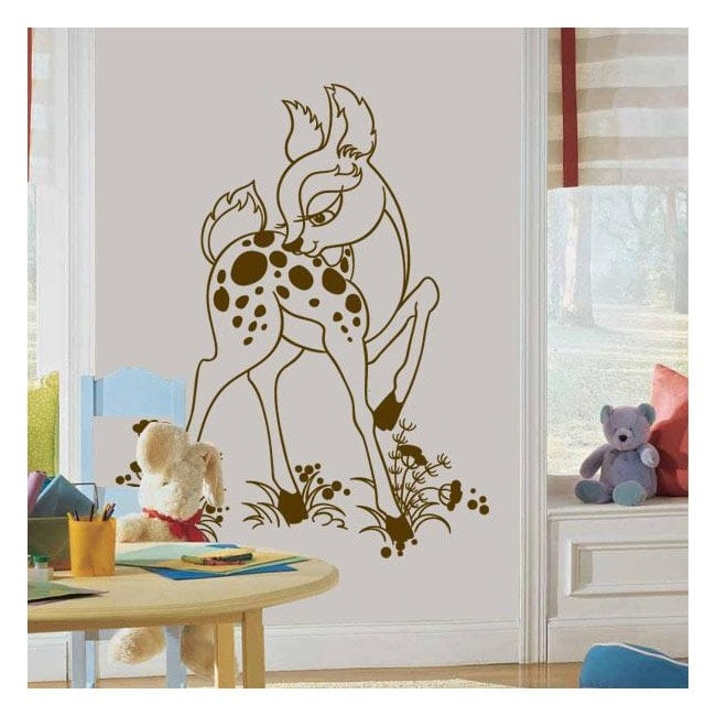 Decorative vinyl Bambi Fawn