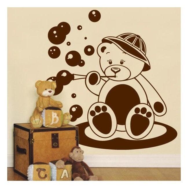 Decorate walls bear child