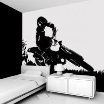 Decorate walls Motocross