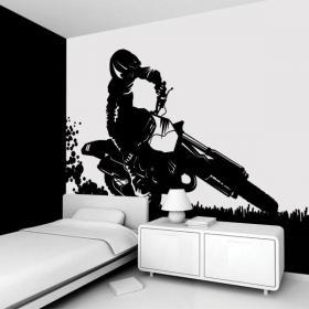 Decorate walls Motocross
