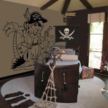 Decorate walls infant pirate