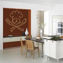 Decorate walls kitchen
