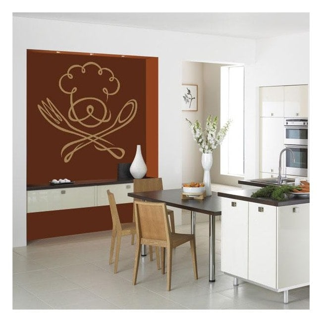 Decorate walls kitchen