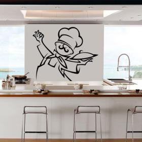 Decorate walls kitchen Chef