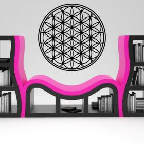 Decoration wall flower of life