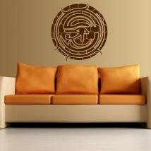 Decoration wall eye of Horus