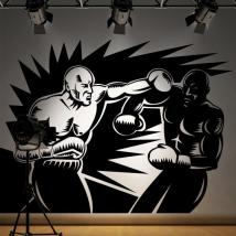 Boxers walls decoration