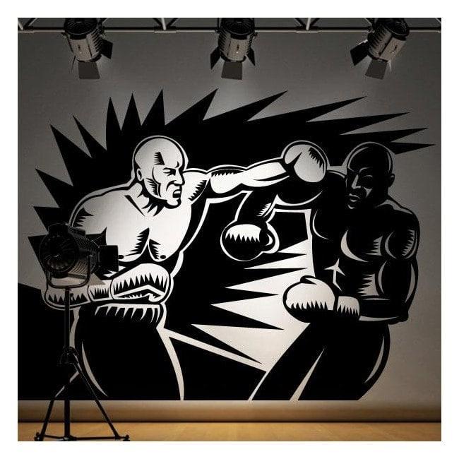 Boxers walls decoration