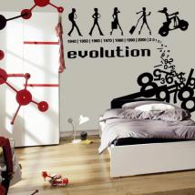 Evolution decorative vinyl English 375