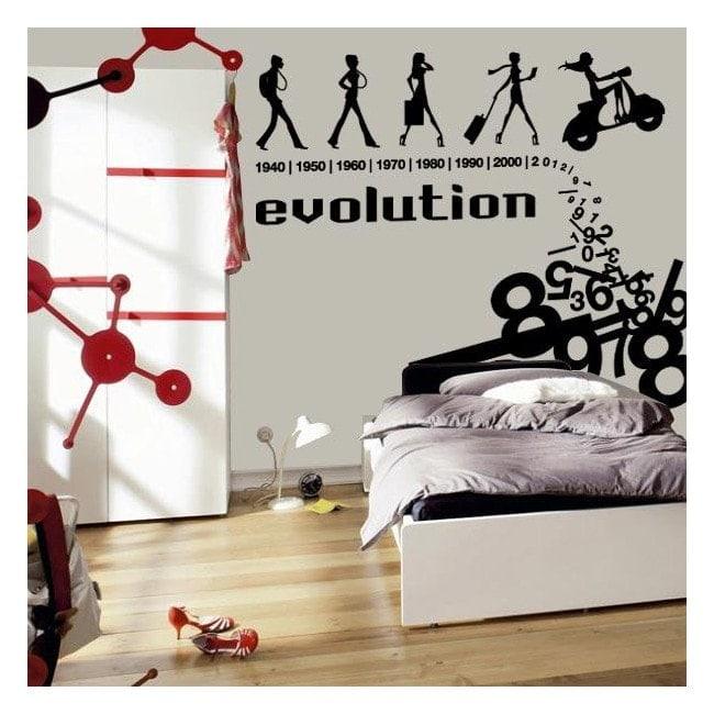 Evolution decorative vinyl English 375