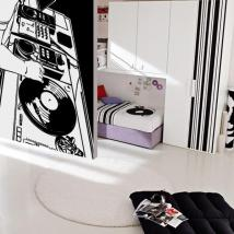 Decorative vinyl Studio DJ