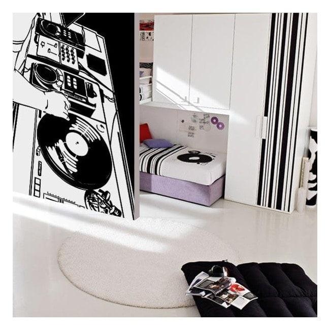 Decorative vinyl Studio DJ