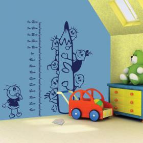 Decorative vinyl child meter