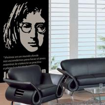 Decorative vinyl John Lennon
