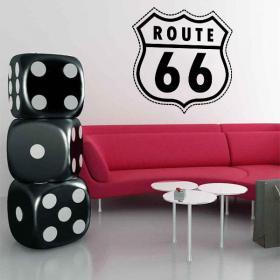 Decorative vinyl Route 66
