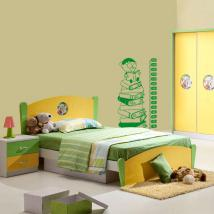 Decoration walls meter height children