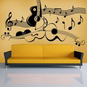 Decor wall art music