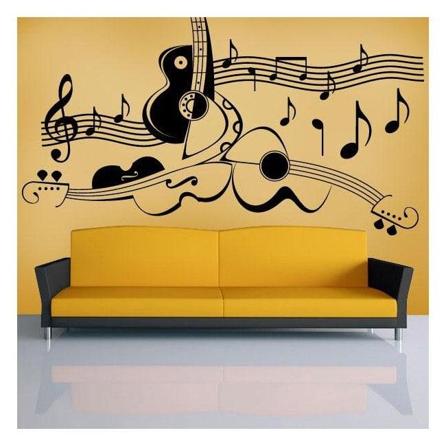 Decor wall art music