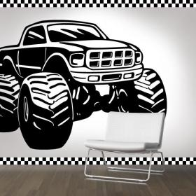 Walls decoration Monster Truck